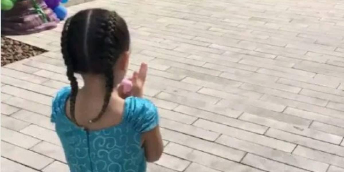 La fiesta monumental de Daniela Ospina a Salomé en casa de James Rodríguez