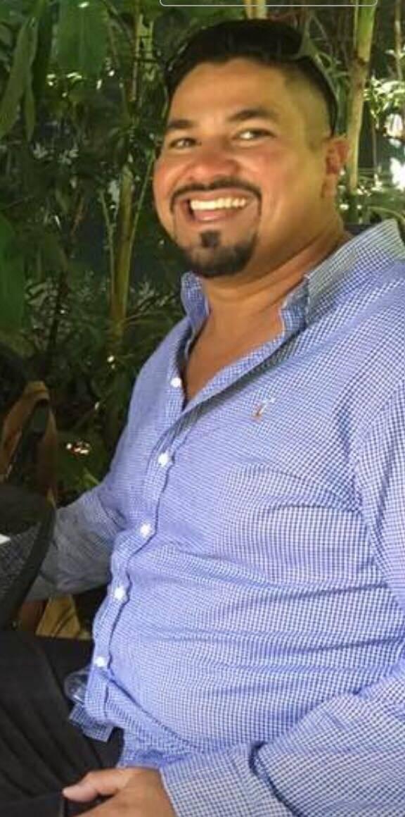 Luis Fernando Moncada, volcán acatenango