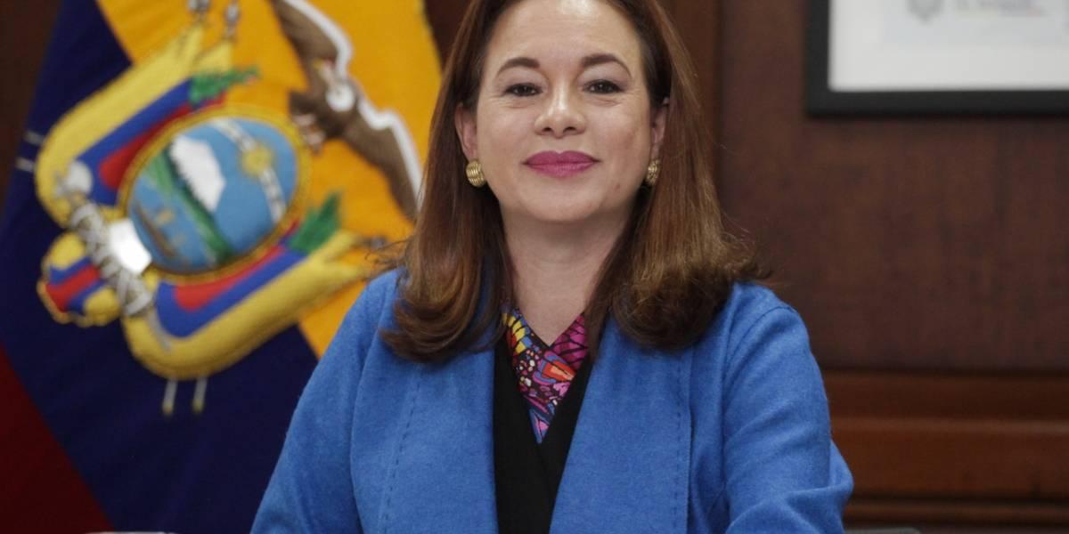 María Fernanda Espinosa, optimista a las elecciones a la Asamblea General de la ONU