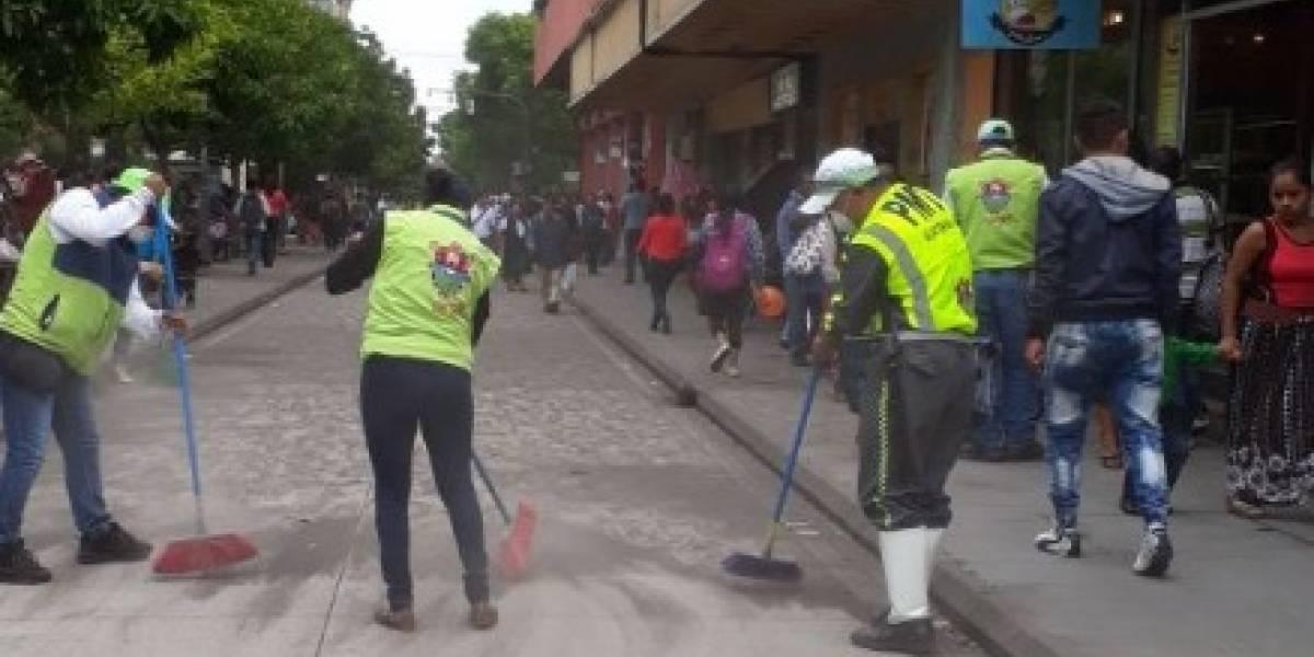 MuniGuate activó plan AVE y estos fueron los trabajos en la ciudad