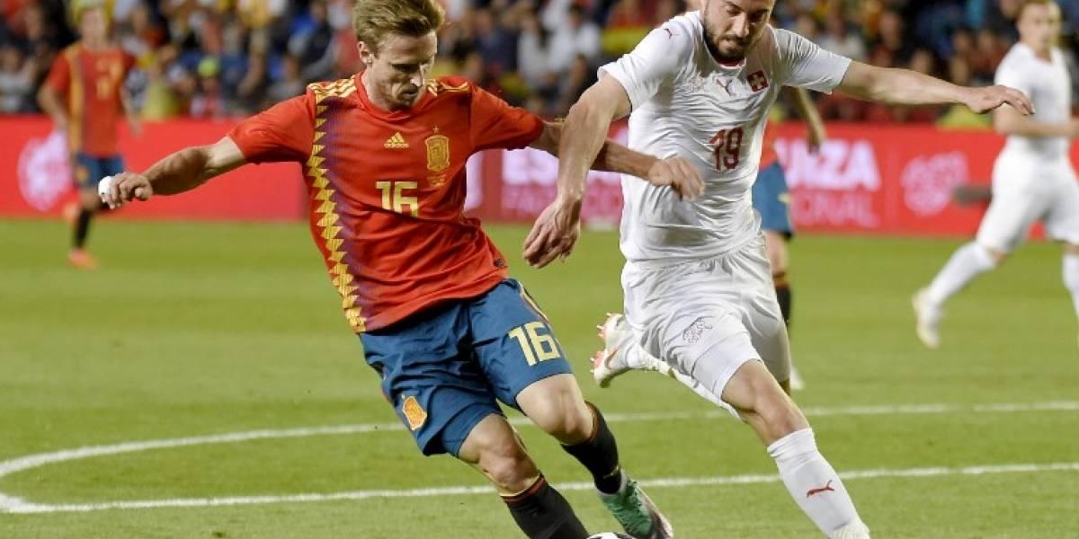 España deja mal sabor tras empatar ante Suiza