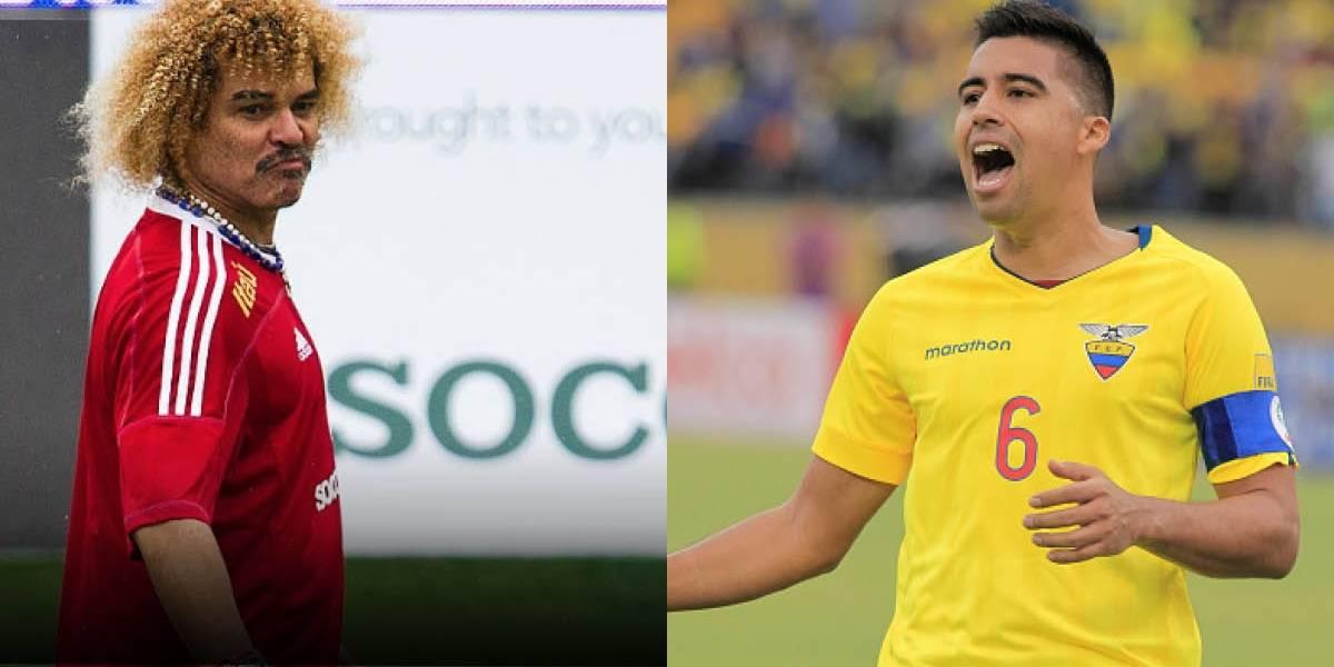 """Christian Noboa jugará contra El """"Pibe"""" Valderrama"""