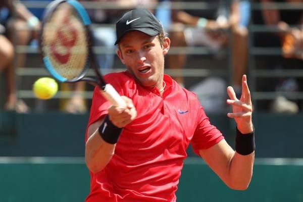 Nicolás Jarry está viviendo su mejor presentación en el dobles de un Grand Slam / Foto: Photosport