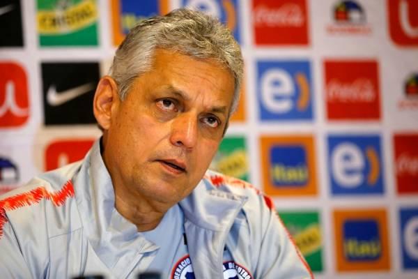 Reinaldo Rueda una vez más elogió a Arturo Vidal / Foto: Photosport
