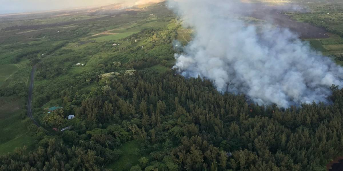 VIDEO. Río de lava impide acceso a más vecindarios en Hawai