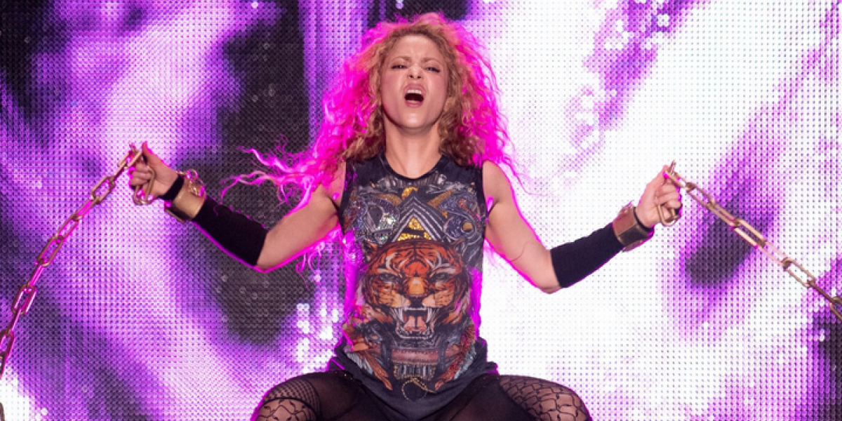 Shakira celebra el arranque del Dorado World Tour