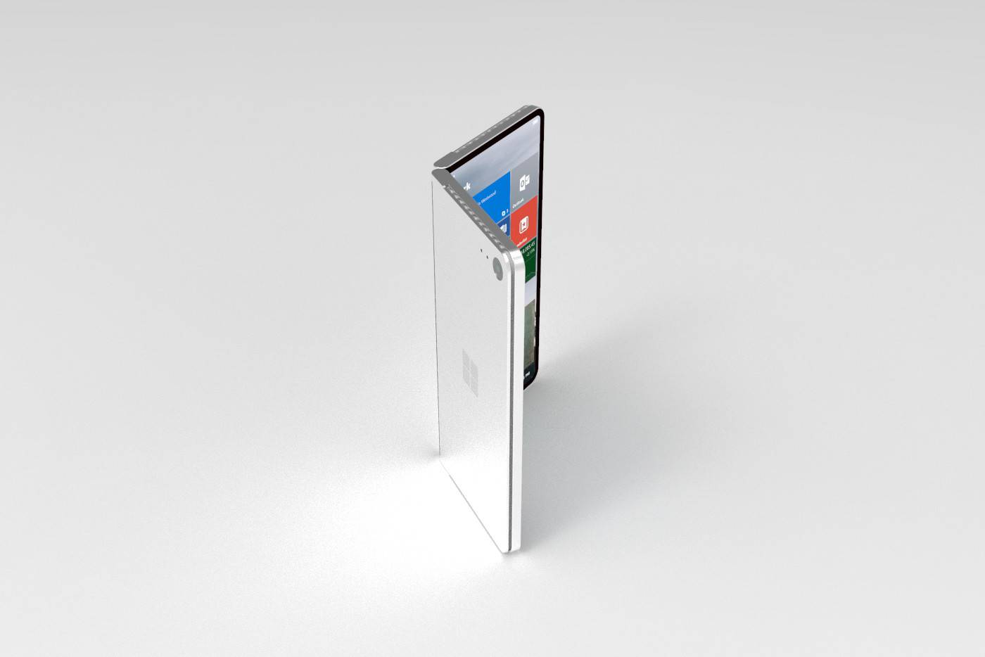Video conceptual muestra la nueva Surface con una tablet de pantalla plegable