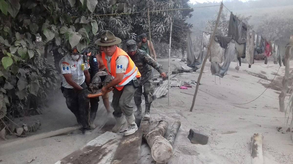 Docenas de muertos por la erupción del Volcán de Fuego en Guatemala