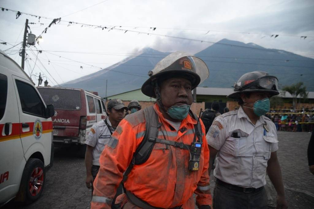 Emergencia volcán de Fuego