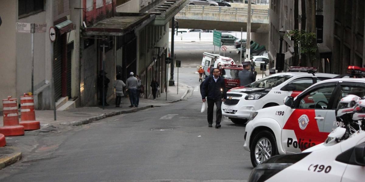 PM cumpre ação de reintegração de posse em prédio no centro de SP