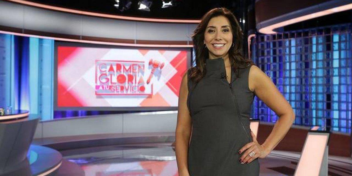 Exitoso debut en TVN  de Carmen Gloria Arroyo