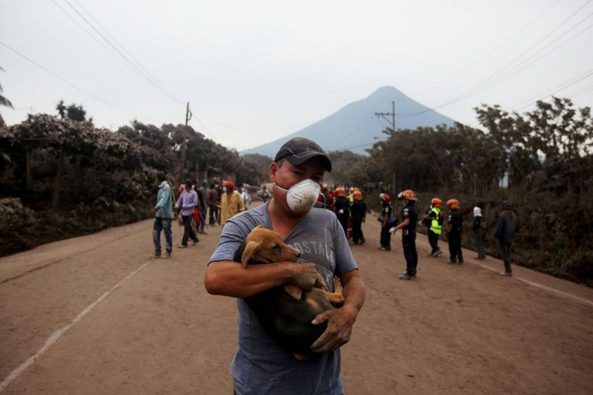 Volcán de Fuego en Guatemala EFE