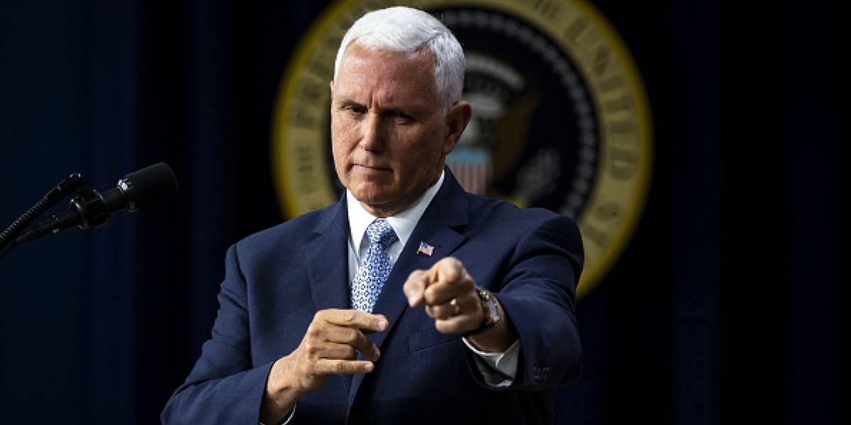Mike Pence, vicepresidente de Estados Unidos, confirmó que vendrá a Ecuador