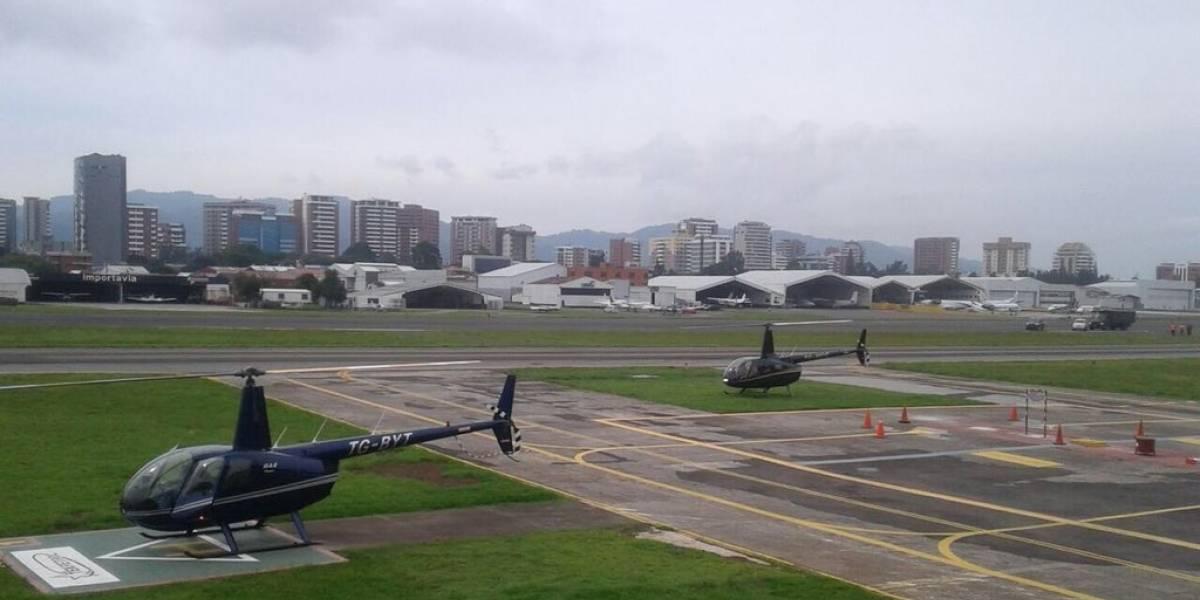 Reabren operaciones de pista en el aeropuerto La Aurora