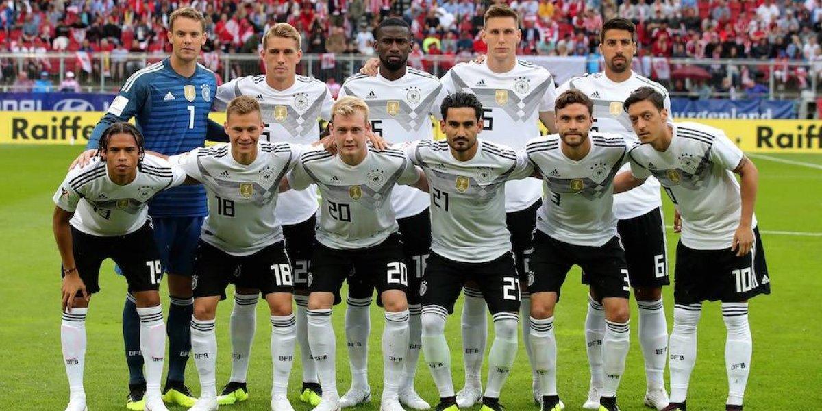 Alemania define a su plantel para encarar el Mundial de Rusia; Leroy Sane queda fuera