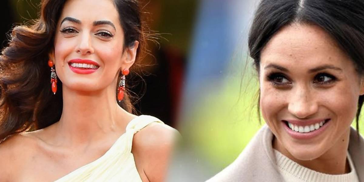 Amal Clooney es la nueva confidente de Meghan Markle
