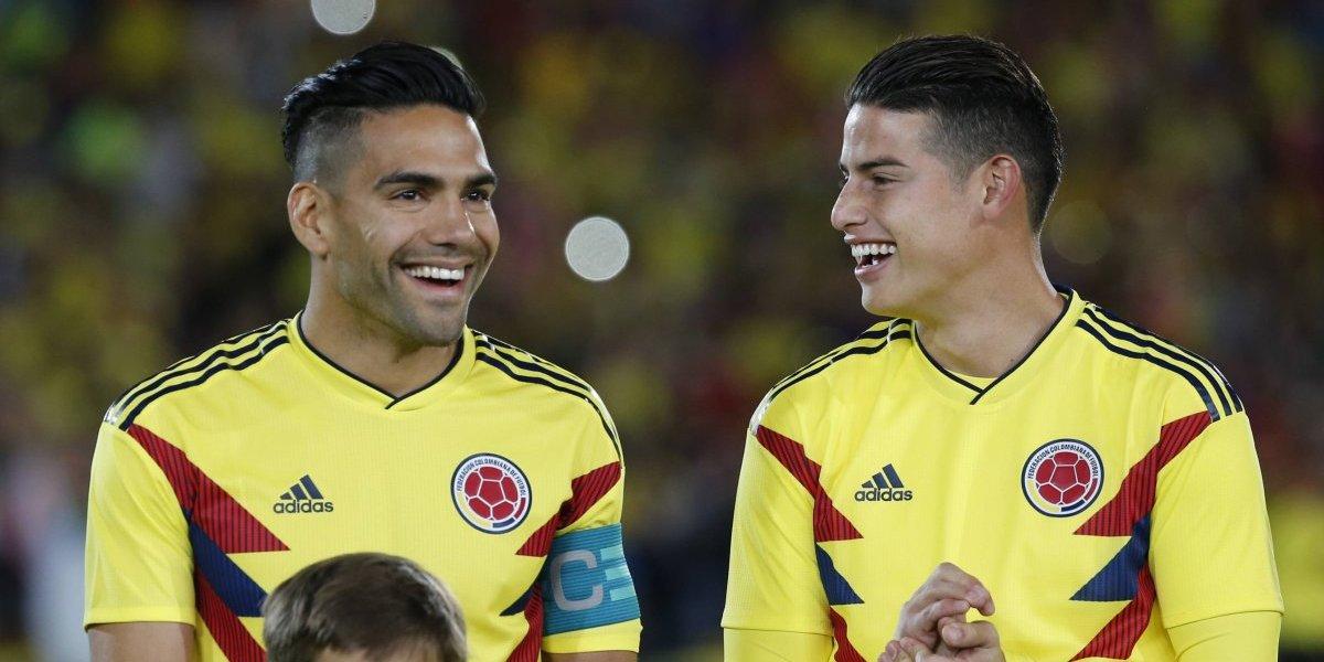 James Rodríguez y Radamel Falcao encabezan la nómina de Colombia para el Mundial de Rusia 2018