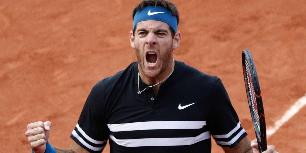 (+FOTOS) Del Potro se mete en semifinales y enfrentara a Nadal