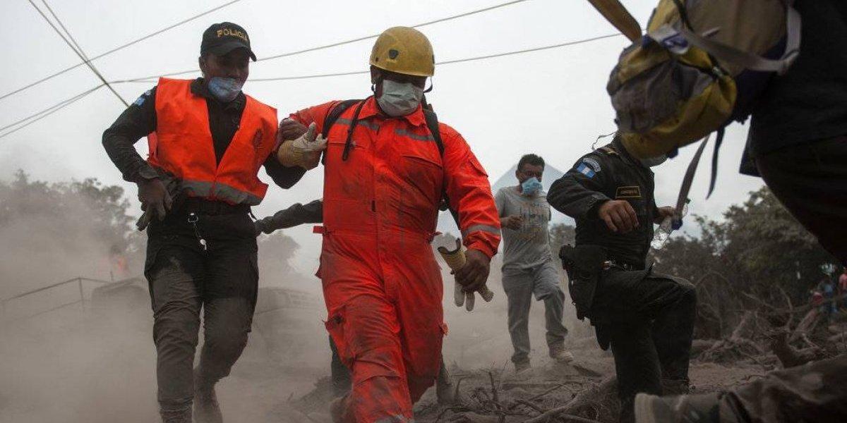 Suman 62 muertos por erupción de Volcán de Fuego en Guatemala