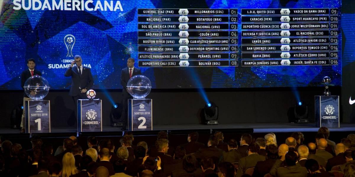 Copa Sudamericana: Ecuador ya tiene los rivales en la siguiente fase