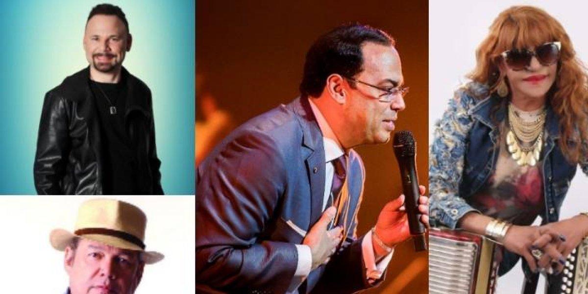 """Gilberto Santa Rosa, Víctor Víctor y Eddy Herrera cantarán en """"Festival Dominicana del Ron"""" en Pto. Pta."""