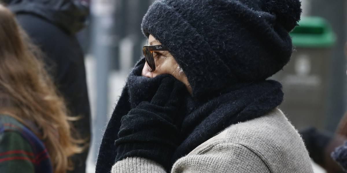 La mañana más fría del año en la Región Metropolitana: -3,3° C en Buin y -1,3° C en Quinta Normal
