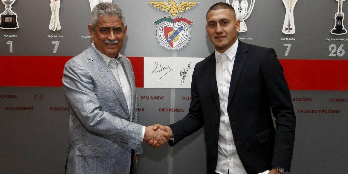 """Nicolás Castillo ficha en Benfica prometiendo un cambio: """"Antes llegué muy joven, un poco inmaduro"""""""