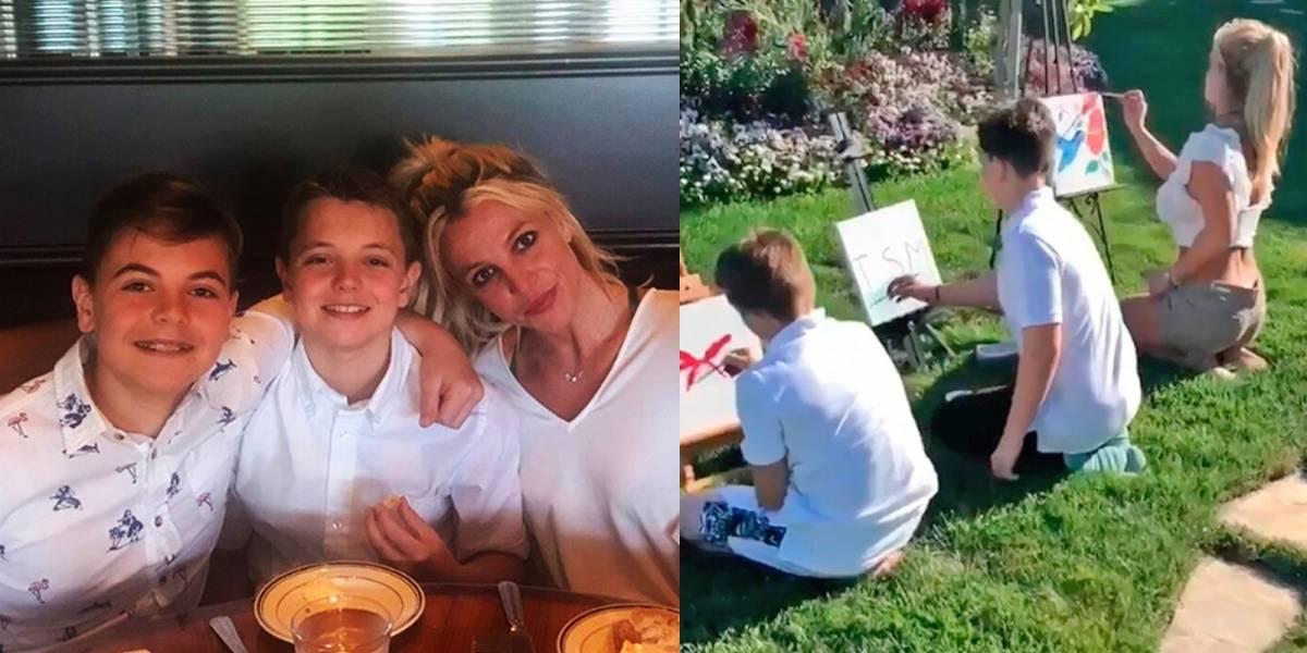 El tiempo pasó volando ¡Así de grandes están los hijos de Britney Spears!