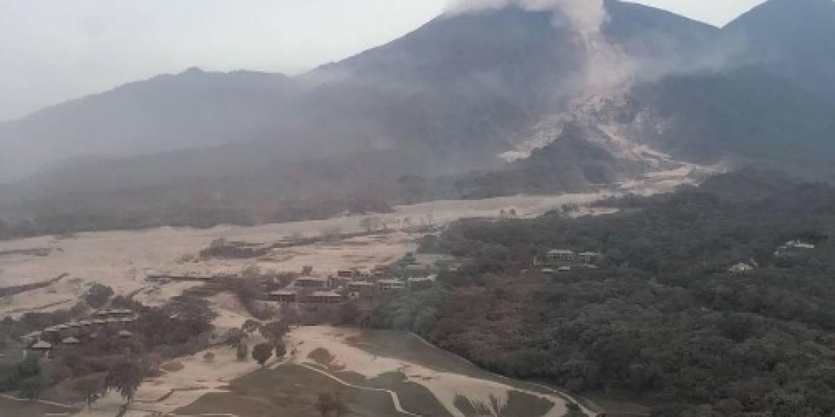 """El drama no para en Guatemala: ya no es la lava ahora es el """"flujo piroclástico"""""""