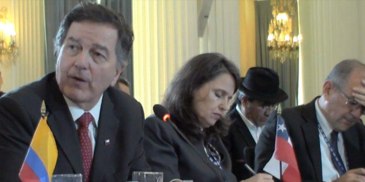 En la 48º asamblea de la OEA: Roberto Ampuero le cantó sus verdades al canciller de Maduro