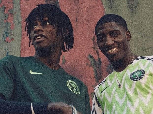 Camiseta de Nigeria Internet