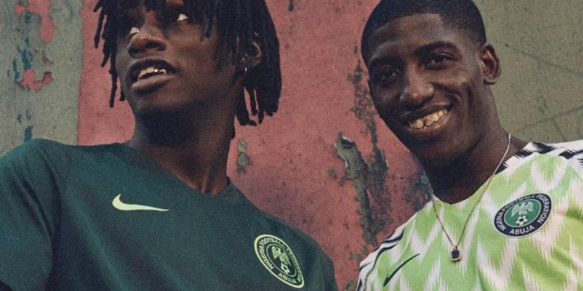 La camiseta de Nigeria batió récords de ventas para el Mundial y estas son las razones