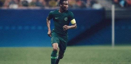 Camiseta de Nigeria NIKE