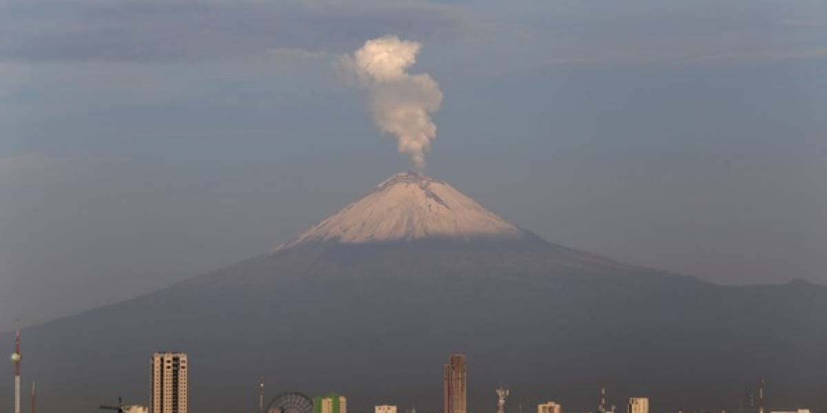 Estas son las zonas riesgo ante una erupción del Popocatépetl
