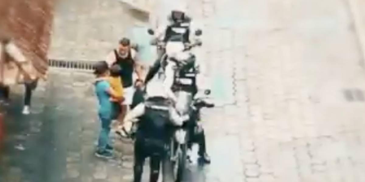 ECU 911 y Policía entregan niño perdido a su madre tras colaboración ciudadana