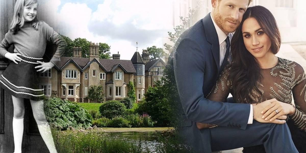 La impresionante casa de campo de Meghan y Harry es donde nació Lady Di