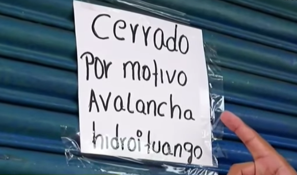 Comerciantes, los más afectados por alerta en Hidroituango