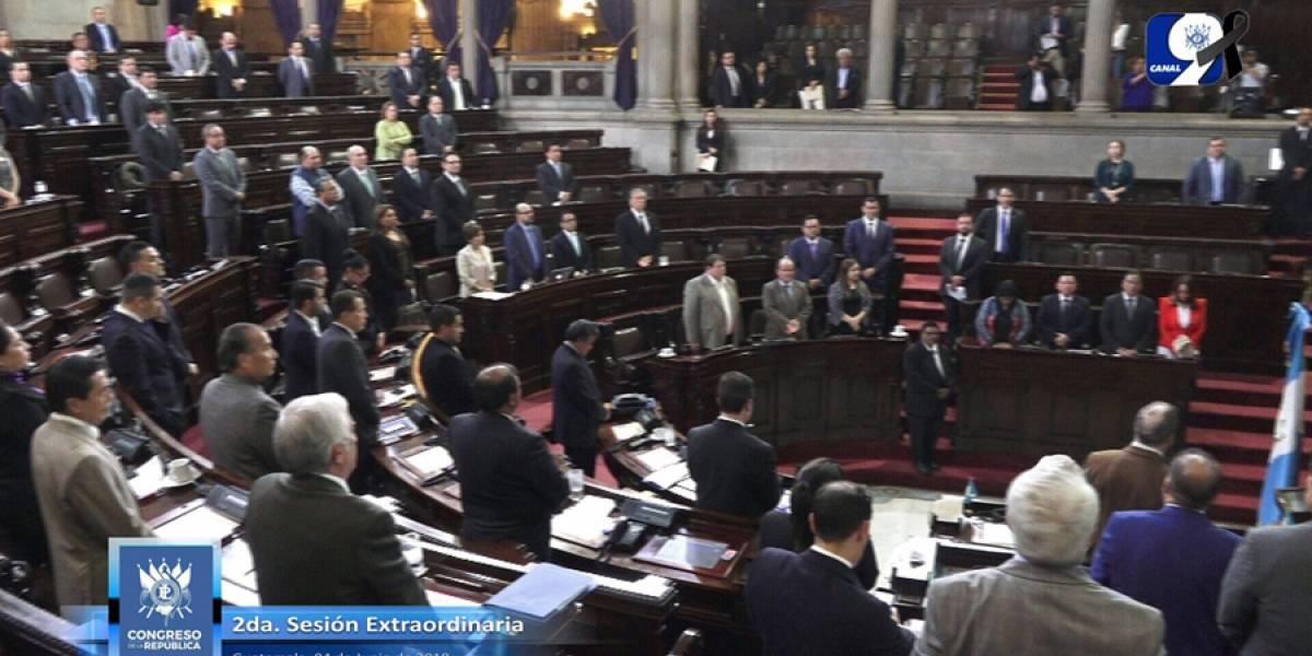 Congreso ratifica Estado de Calamidad Pública declarado en tres departamentos