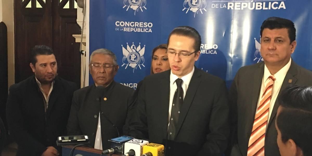 Junta directiva del Congreso aboga para que los diputados ratifiquen el estado de calamidad