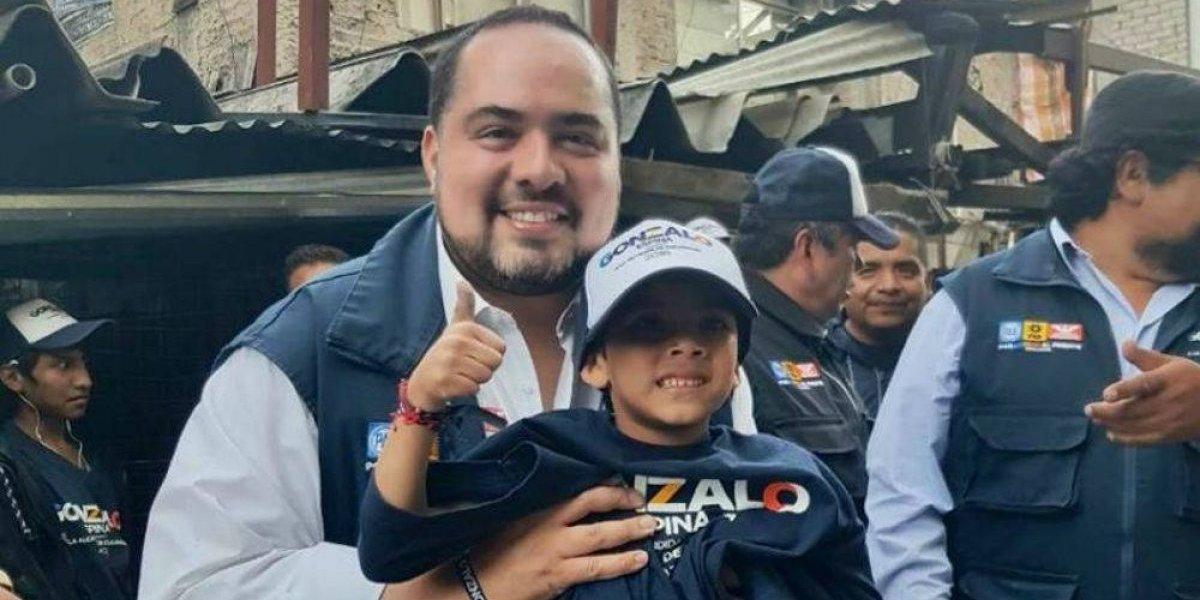 Gonzalo Espina promete que niños de Cuajimalpa podrán estudiar en el extranjero