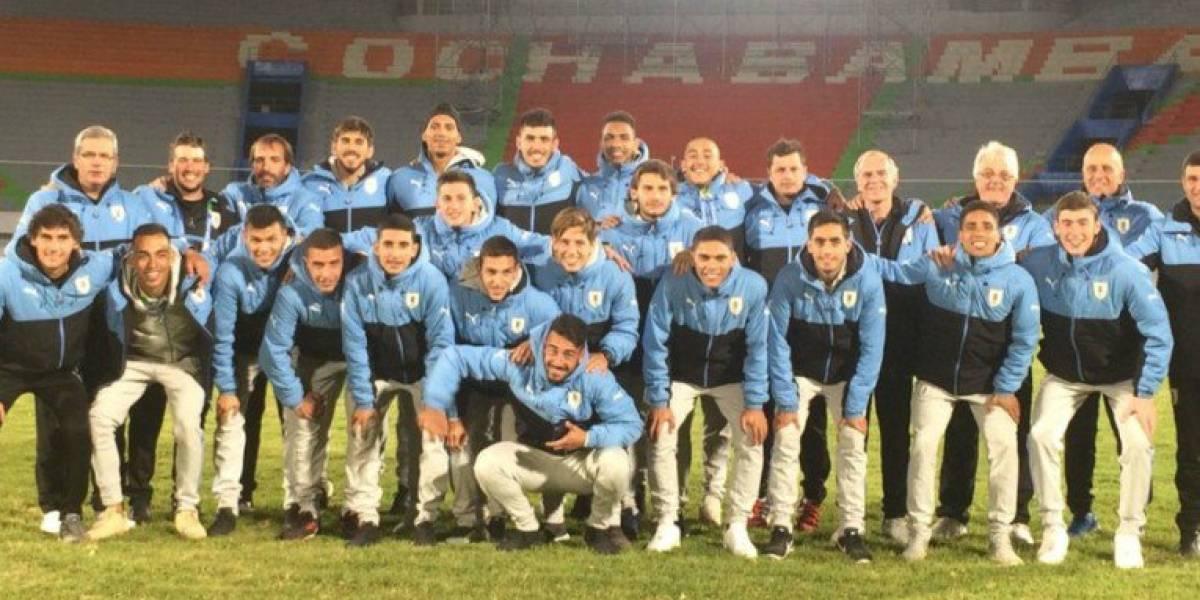 Uruguay venció a Argentina y será el rival de la Rojita en la final del fútbol en los Suramericanos