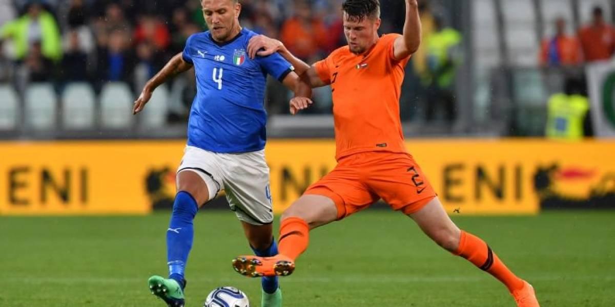Empatan italianos y holandeses en duelo de eliminados del Mundial