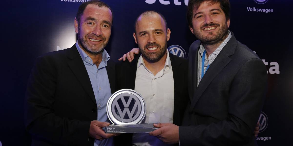 La gestión 2017 de Volkswagen Chile es reconocida por la fábrica