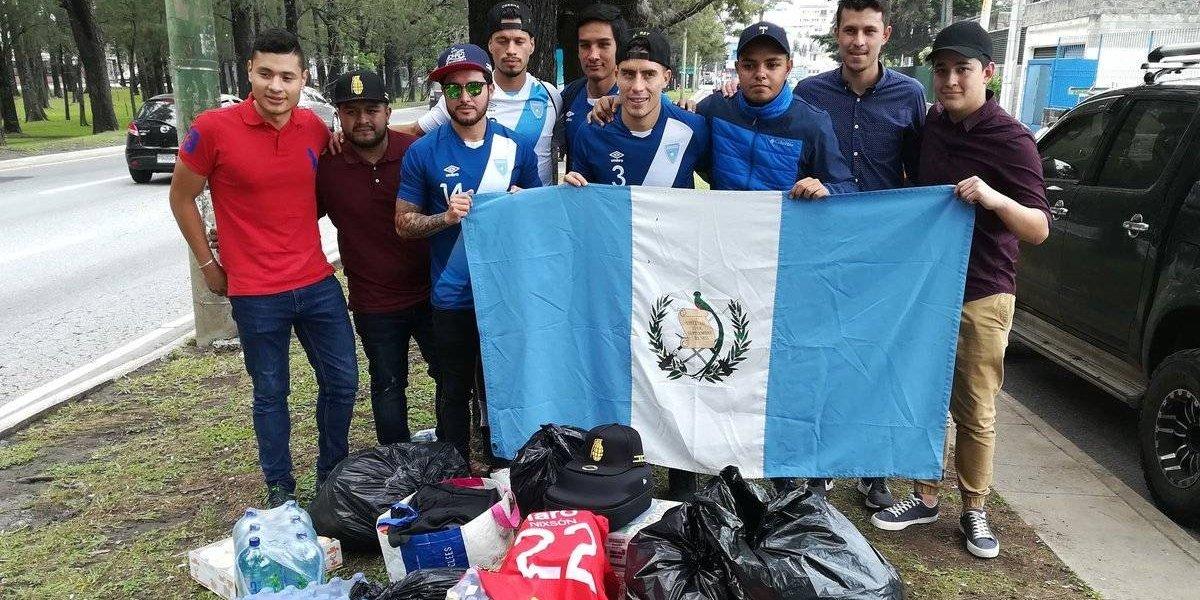 Futbolistas nacionales se unen a la noble causa y ayudan a los guatemaltecos