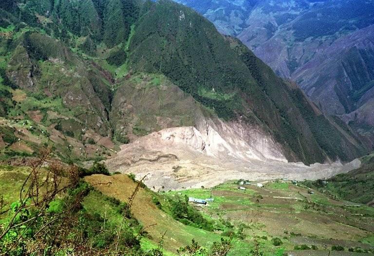 Cerro Cortador, en Perú
