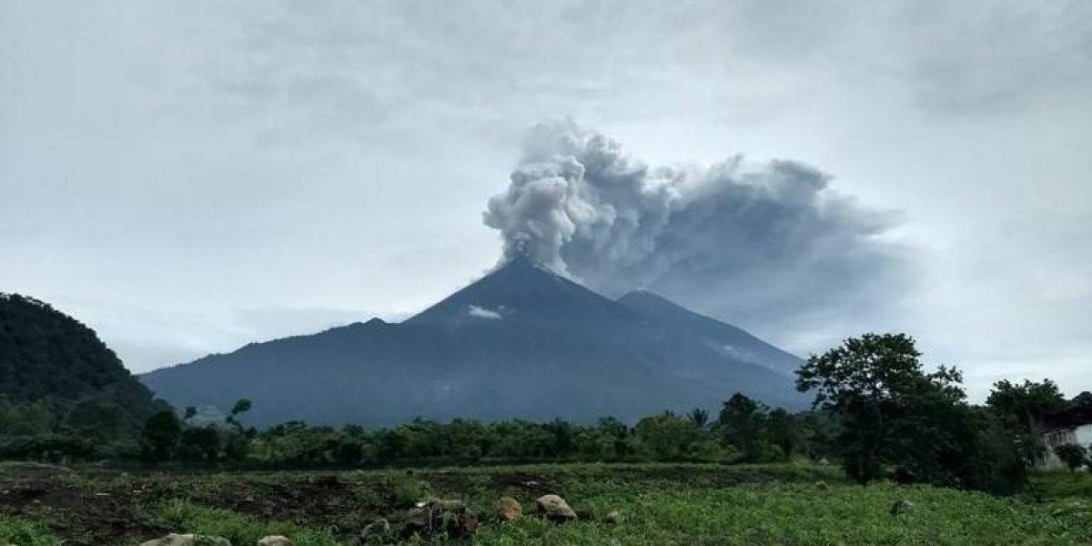 Israel anuncia ayuda equivalente a 10 mil dólares a Guatemala tras erupción