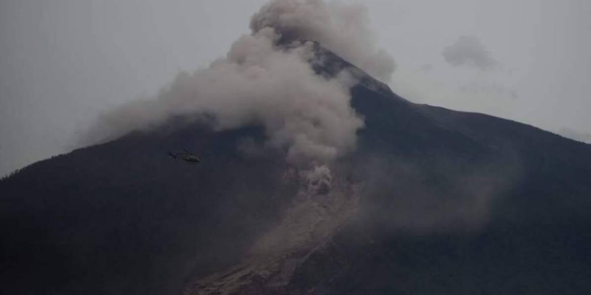 Fotos de la NASA muestran nube tóxica del volcán de Fuego cubre varios departamentos