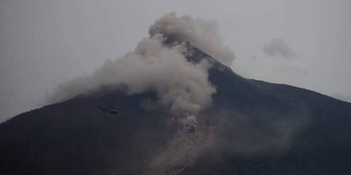 Impactante video que muestra momento de erupción del volcán de Fuego