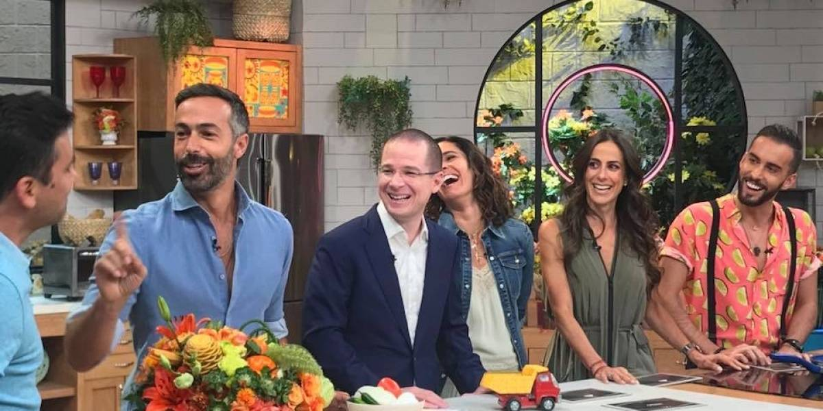 Ricardo Anaya debuta en programa matutino de revista