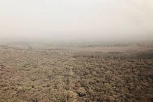 Fotos aéreas volcán de Fuego
